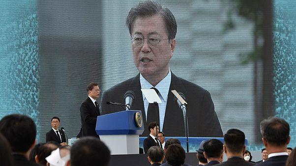 رئيس كوريا الجنوبية يحيي ذكرى أحداث غوانغجو ويكرم ضحاياها