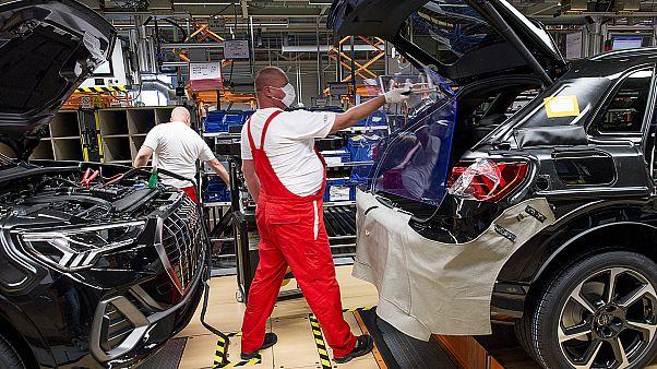 Újraindult a termelés a győri Audi-gyárban