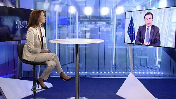 Μαργαρίτης Σχοινάς στο euronews: «Τα διδάγματα του Έβρου είναι erga omnes»