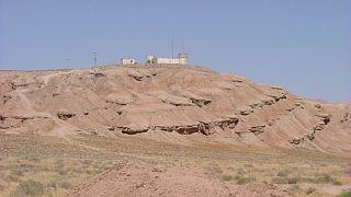 پاسگاه ایران در مرز افغانستان در نزدیکی تایباد