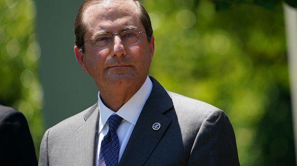 ABD Sağlık ve Sosyal Hizmetler Bakanı Alex Azar