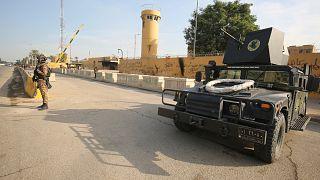 مبنى السفارة الأمريكية في بغداد