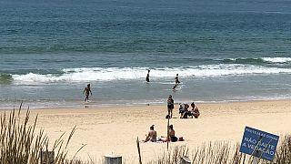 O regresso das esplanadas de praia