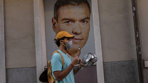 Proteste in Spanien gegen Coronapolitik
