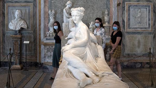 Italia abre poco a poco su turismo cultural