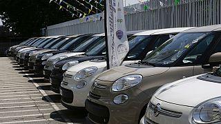 Virus Outbreak Europe Car Sales