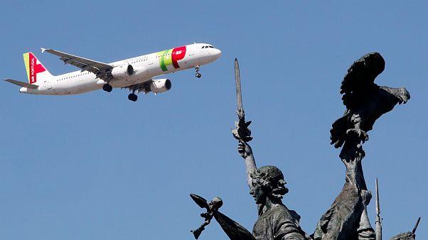 Companhia transportadora aérea portuguesa necessita de financiamento urgente