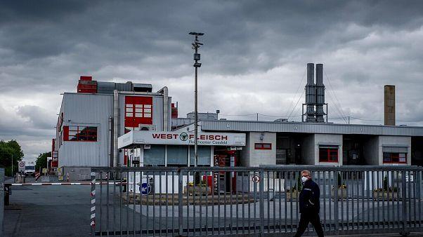 Virus Outbreak Germany Slaughterhouse