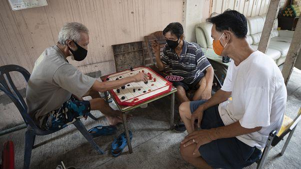 Virus Outbreak Thailand Daily Life