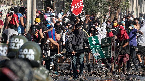 Manifestation au Chili le 19 mai