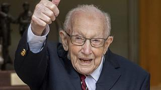 Captain Sir Tom Moore has died with coronavirus aged 100