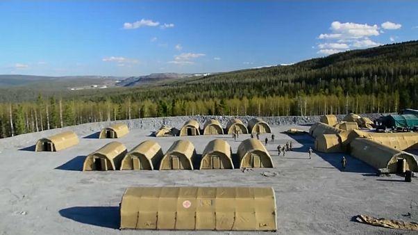 Un foyer de contamination dans une mine d'or en Russie