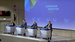 Presentación del paquete de primavera del semestre europeo