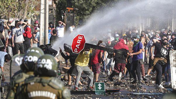 Zavargások Santiago el Bosque negyedében május 19-én