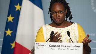 Sibeth Ndiaye, Porte-parole du gouvernement, Paris, le 20 mai 2020