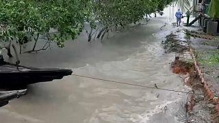 Cyclone au Bangladesh et en Inde