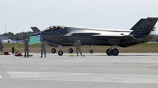 F-35 uçakları testi