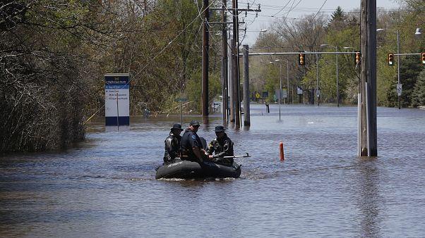 Michigan: 10.000 Menschen wegen Hochwasser und Dammbrüchen evakuiert