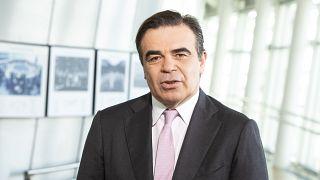 Ο Αντιπρόεδρος της ΕΕ για την Προώθηση του Ευρωπαϊκού Τρόπου Ζωής Μαργαρίτης Σχοινάς