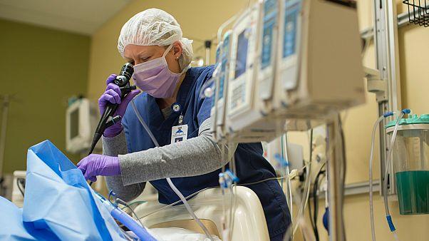 Utolsó ellenőrzés szervátültetés előtt