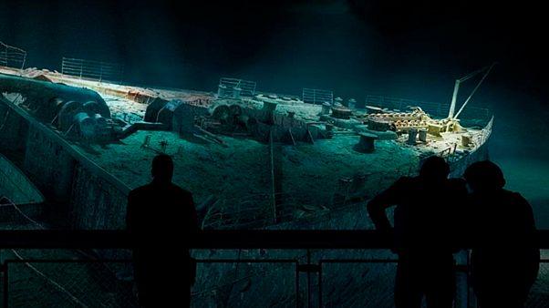 """تصور بانورامي جديد لسفينة """"تايتانيك"""" في أحد المعارض بألمانيا"""