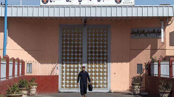 سجن عين السبع في مدينة الدار البيضاء في المغرب