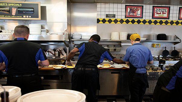 سلسلة مطاعم ووافل هاوز في الولايات المتحدة