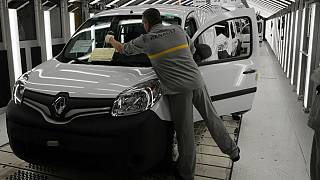 French carmaker Renault assembly line
