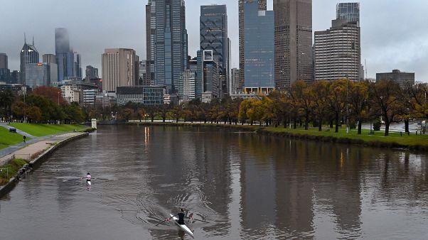 مشهد من العاصمة الأسترالية ملبورن