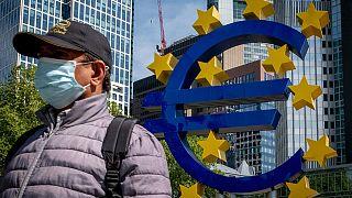European Central Bank in Frankfurt, Germany