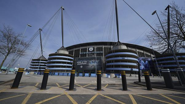 Stadion von Premier League-Klub Manchester City