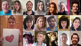 Magyarországon élő külföldiek éneklik az LGT dalát