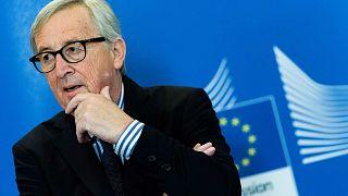 رئيس المفوضية الأوروبية السابق جان كلود يونكر، بروكسل، 3 ديسمبر2019
