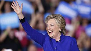 Hillary Clinton during 2016 camapaign