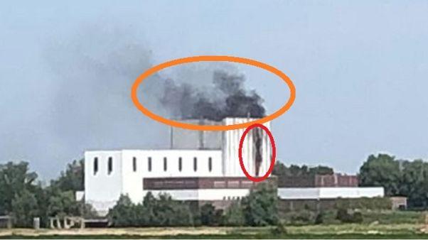 Tűz a hollandiai Dodewaard melletti leszerelt atomerőműben