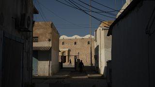 Una calle de Libia
