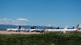 L'aéroport de Teruel en Espagne, le 18 mai 2020.