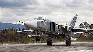 Rus SU 24 savaş uçağı