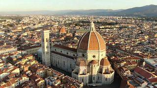 Au Duomo de Florence, un gadget pour faire respecter la distanciation sociale