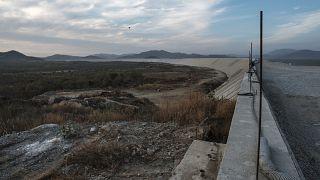 سد النهضة في إثيوبيا قرب السودان