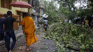 Bangladesh: il ciclone Amphan continua la sua corsa ma si indebolisce