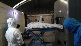 مصلحة حرق الجثث في إيكاتيبيك بولاية مكسيكو في المكسيك