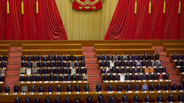 Eröffnung des Volkskongresses in Peking