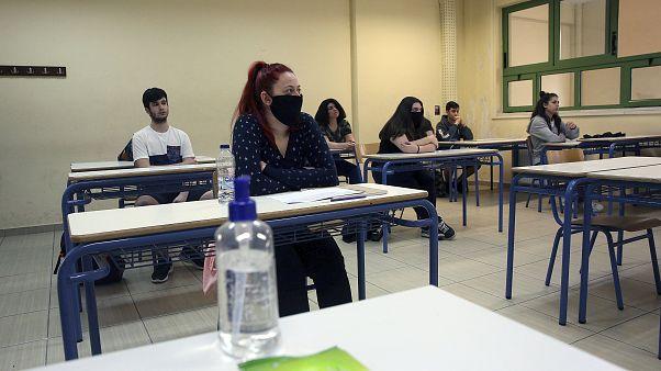 Greece School / Virus Outbreak
