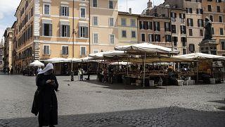 Imágen de un mercado en Italia