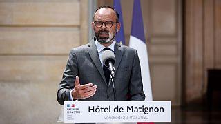 Le Premier ministre français, Edouard Philippe, le 22 mai 2020 à Matignon