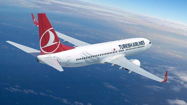 یک هواپیمای ترکیش ایرلاین