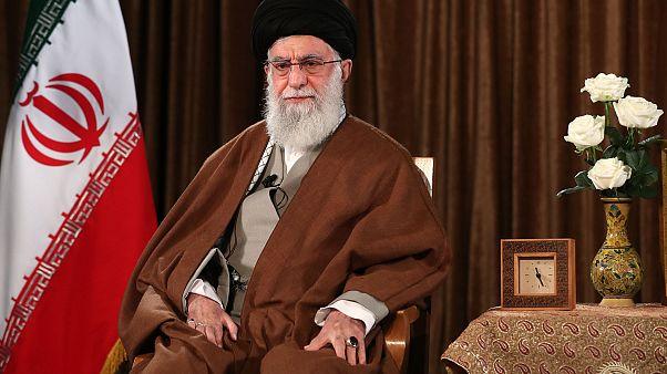 İran'ın dini lideri Ali Hamaney