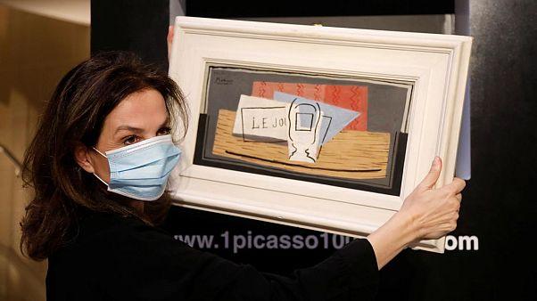 Picasso'nun Nature Morte tablosu