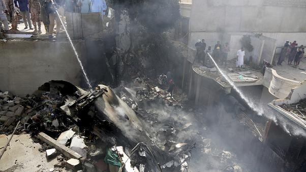 At least 1 passenger SURVIVES Pakistani plane crash""